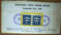 Coolgardie Cycle Express Service Reproduction Stamp Set 1964