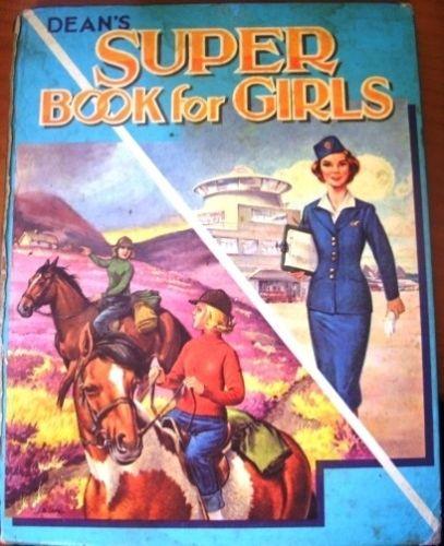 Deans Super Book For Girls Vintage Annual 1965