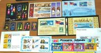 Fiji Samoa Western New Zealand Pitcairn Is Stamp Sheets