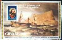 Gibraltar 175th Anniversary Death of Nelson 1980