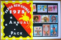 Papua New Guinea Annual Stamp Pack 1978