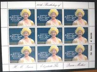 Samoa Sisifo 80th Birthday of Queen Mother 1980 Blue