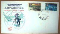 Tenth Anniversary of Antarctic Treaty FDI
